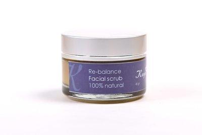 Re-Balance Facial Scrub, 100% Natural
