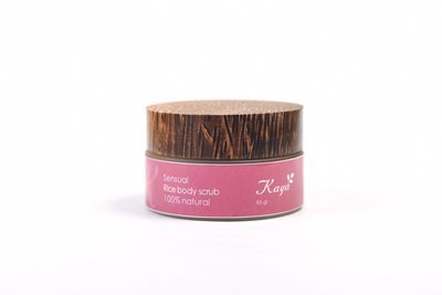 Sensual Body Scrub, 100 % Natural