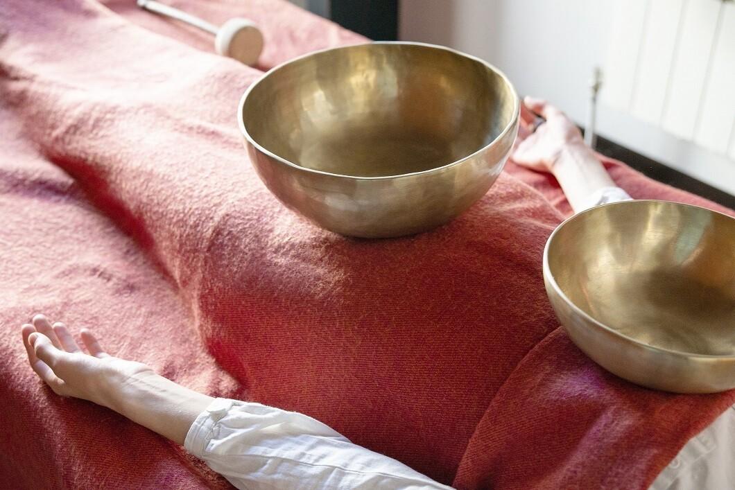 Äänimaljahieronta ja palautuminen -työpaja 24.10.2021, Hailuoto