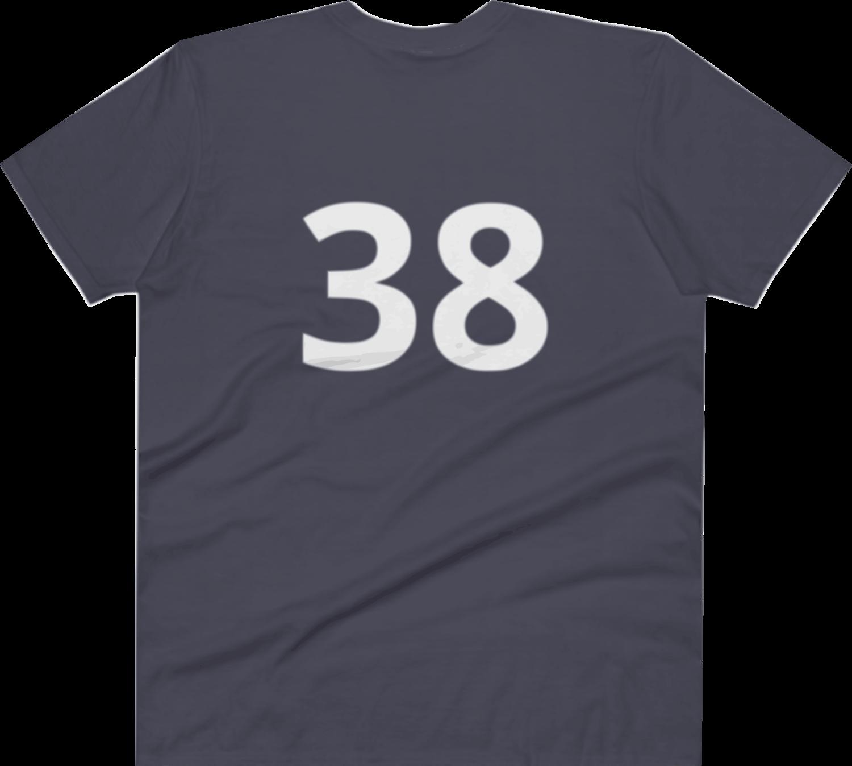 Anvil 982 Lightweight Fashion V-Neck T-Shirt with Tear Away Label