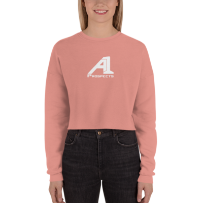 A1 Prospects Mauve Crop Sweatshirt