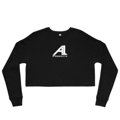 A1 Prospects Black Crop Sweatshirt