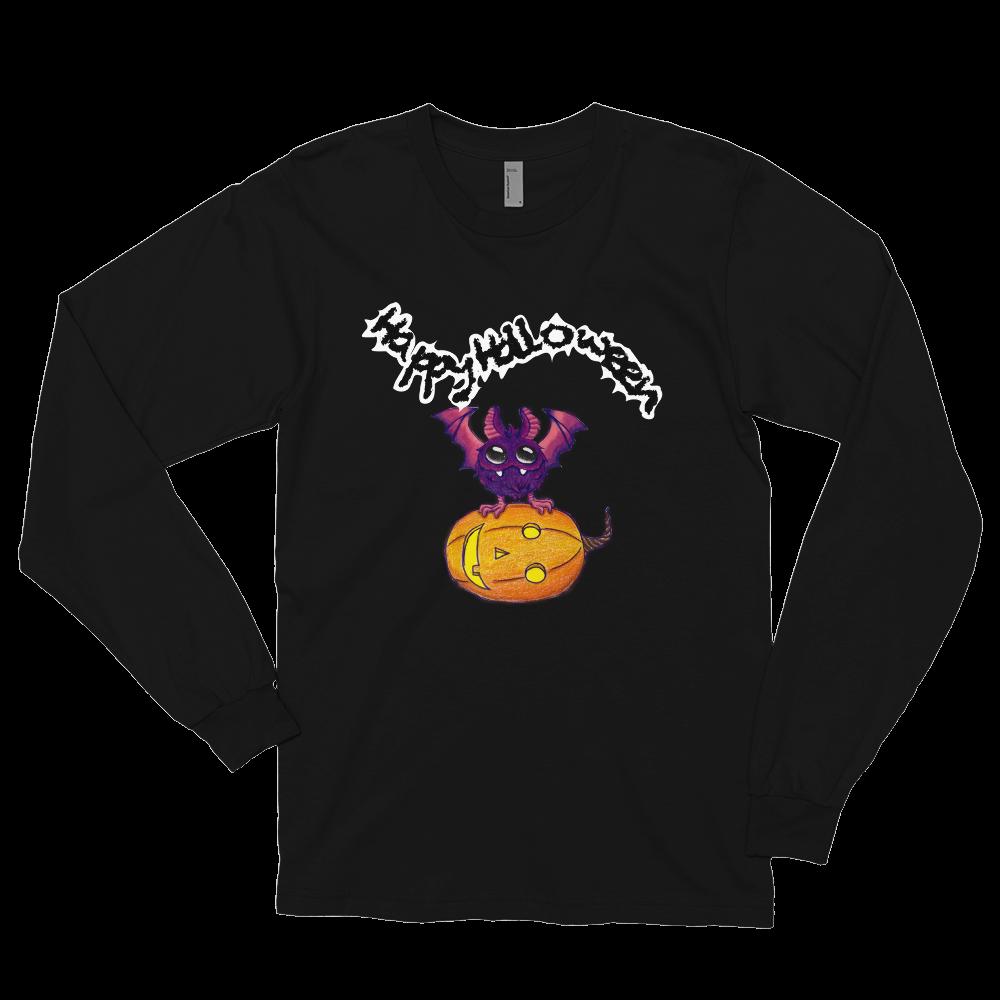 Halloween Pumpkin-Owl Long sleeve t-shirt