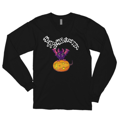 Halloween Pumpkin-Owl Long sleeve t-shirt