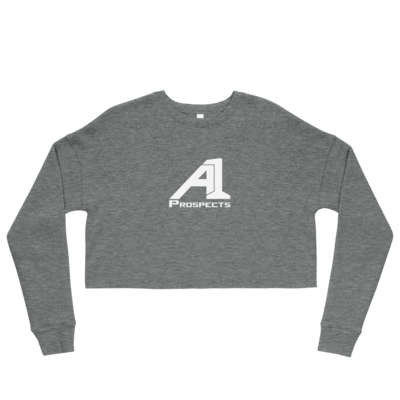 A1 Prospects Grey Crop Sweatshirt