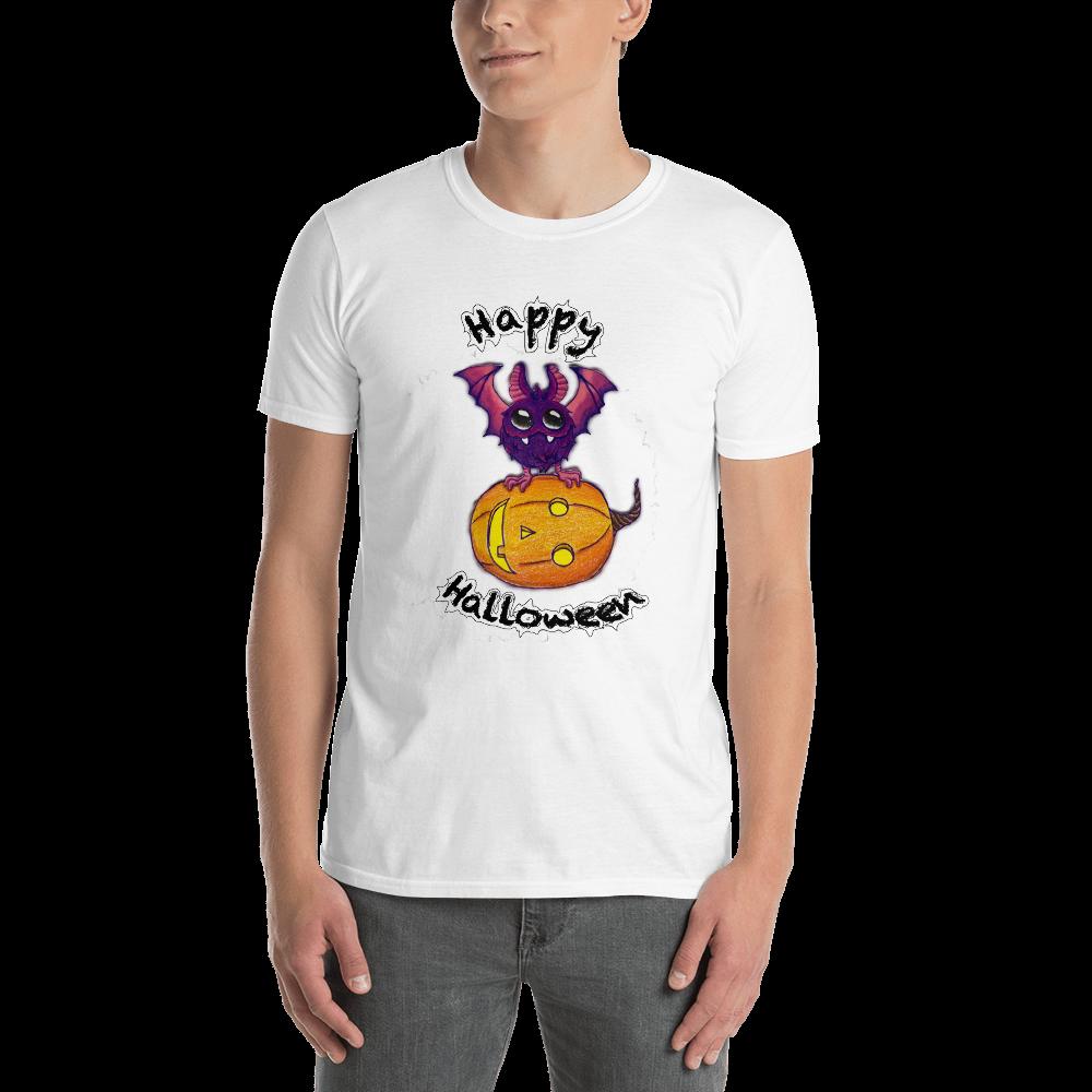 Bat & Pumpkin Dana Collection Short-Sleeve Unisex T-Shirt