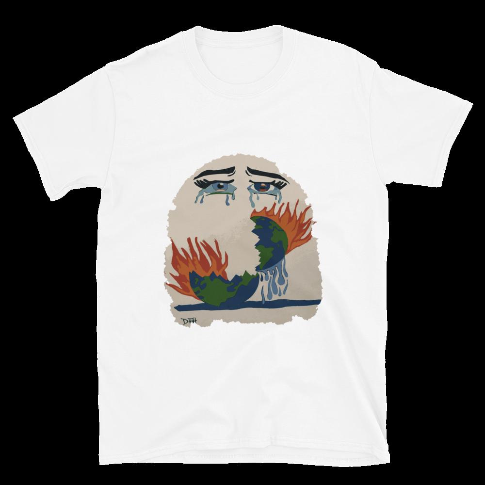 World Crying Short-Sleeve Unisex T-Shirt