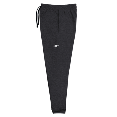A1P Heather Black Joggers