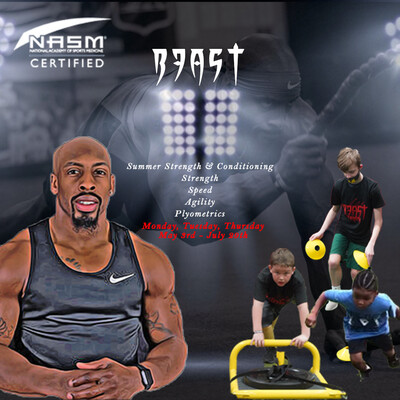 Beast Summer Strength & Conditioning Program (Ages 7-11)