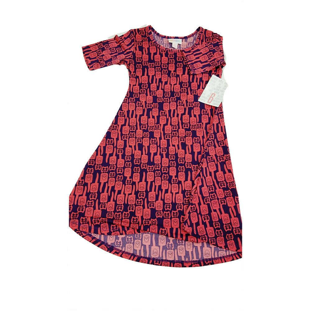Kids Adeline LuLaRoe Swing Dress Size 6 fits kids 5-6