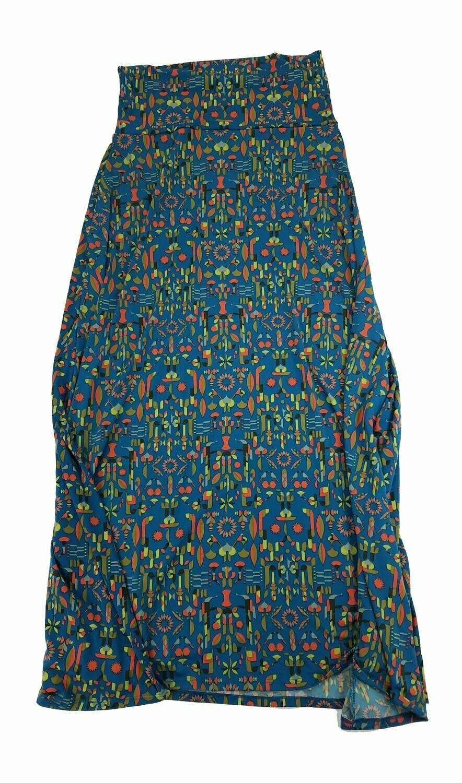 MAXI Small (S) LuLaRoe Womens A-Line Skirt fits 6-8