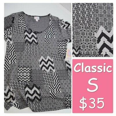 CLASSIC Small (S) LuLaRoe Tee Shirt fits 6-8