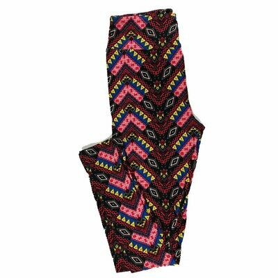 One Size OS Psychedelic, 70's, and Trippy LuLaRoe Leggings fits sizes 2-10