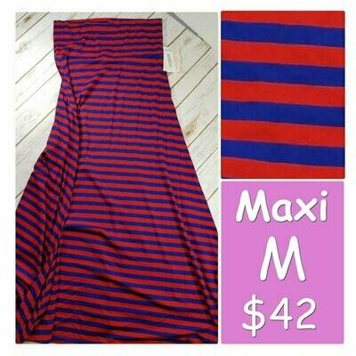 MAXI Medium (M) LuLaRoe Womens A-Line Skirt fits 10-12