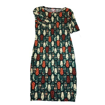 JULIA Small S Disney Jack Skellington Oogie Boogie from A Nightmare Before Christmas Coffin Geometric Shape Form Fitting Dress fits sizes 4-6