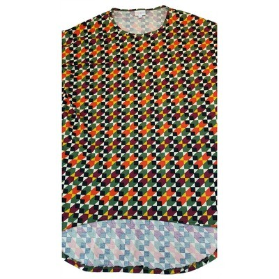 LuLaRoe IRMA X-Small XS Womens Tunic fits 2-6