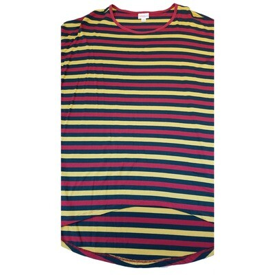 LuLaRoe IRMA X-Small XS Stripe Womens Tunic fits 2-6
