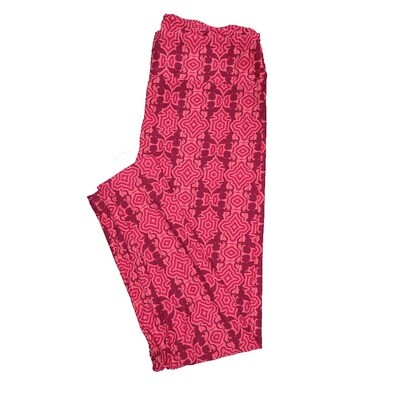 LuLaRoe Tall Curvy ( TC ) Valentines Red Pink Cupids Arrow Hearts Leggings fits Adult sizes 12-18