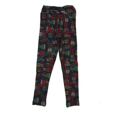 LuLaRoe Kids Small-Medium Christmas Leggings ( S/M fits kids 2-8 ) SM-1005-E