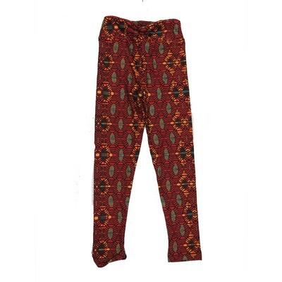 LuLaRoe Kids Small-Medium Geometric Stripe Leggings ( S/M fits kids 2-8 ) SM-1004-Q