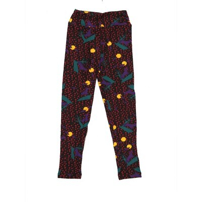 LuLaRoe Kids Small-Medium Halloween Full Moon Howling Wolf Leggings ( S/M fits kids 2-8 ) SM-1005-A