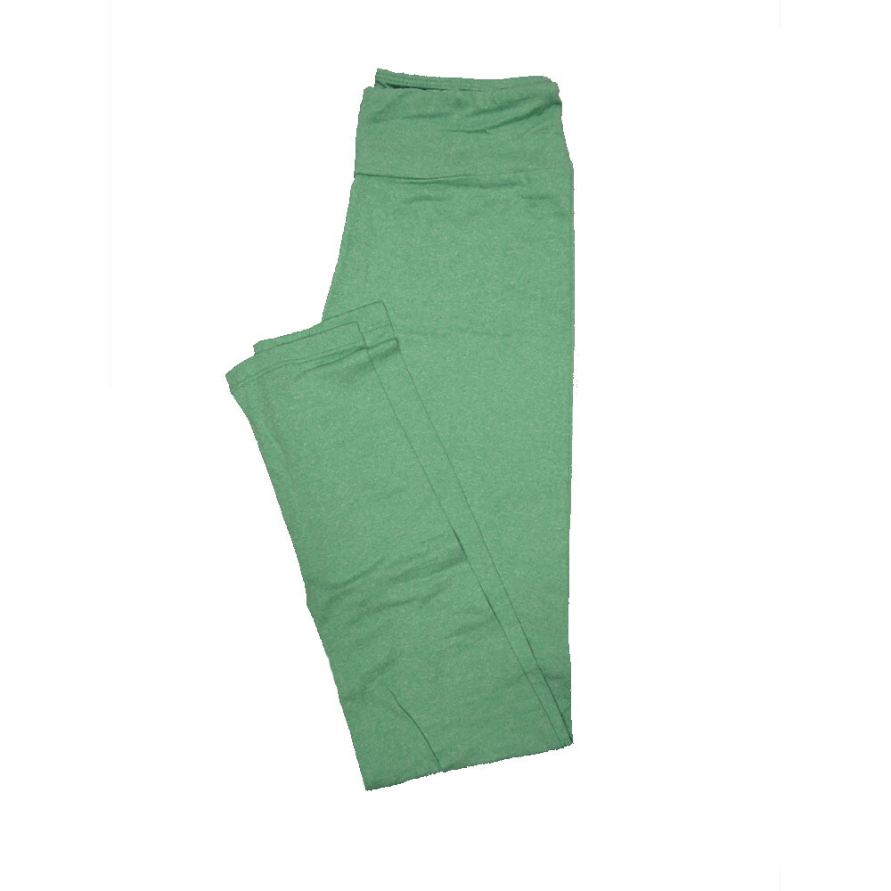 LuLaRoe One Size OS Solid Light Sea Foam Green (90ST) Womens Leggings fits Adult sizes 2-10