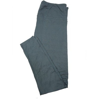 LuLaRoe One Size OS Solid Dark Turquoise (194524) Womens Leggings fits Adult sizes 2-10
