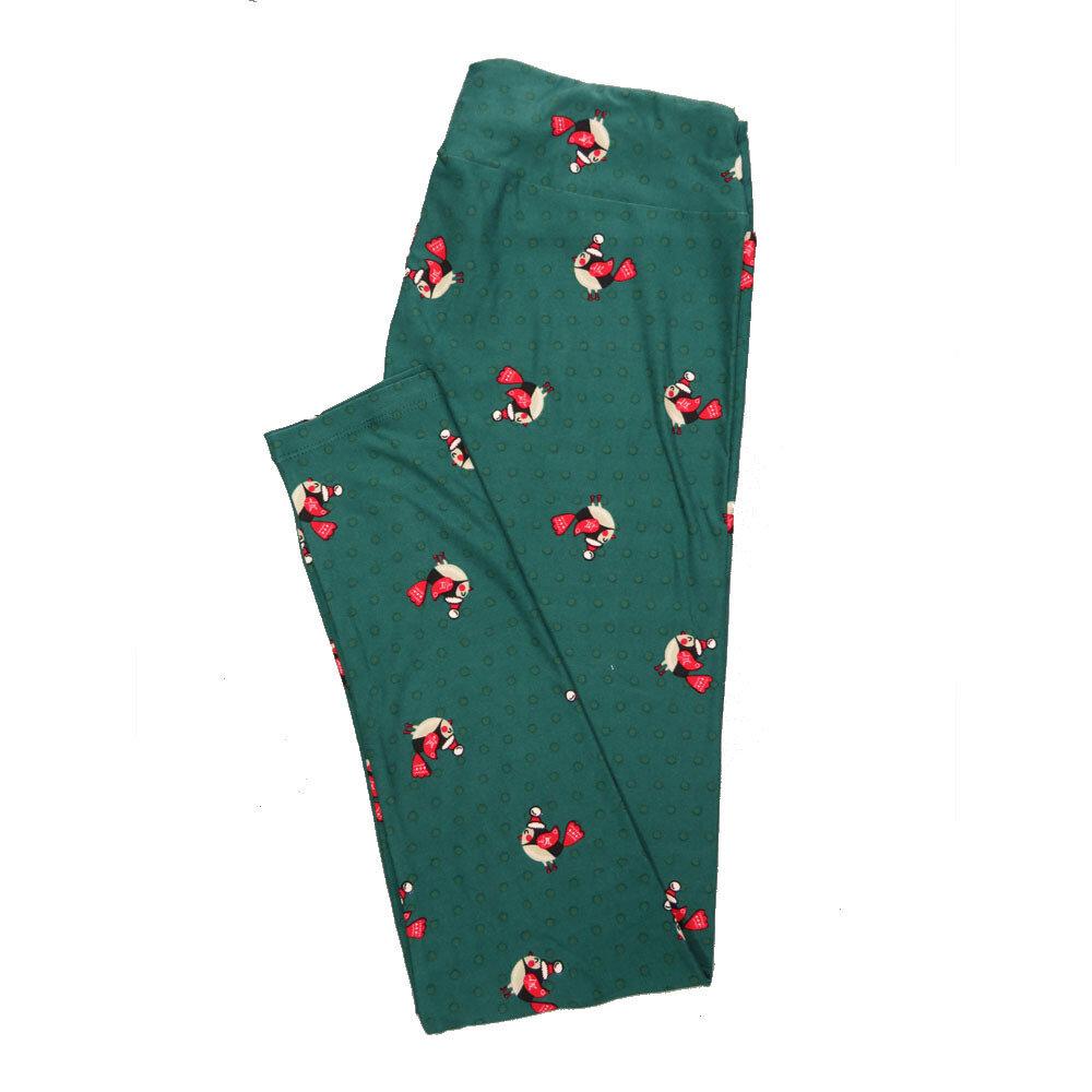 LuLaRoe Tall Curvy TC Leggings Christmas Holiday (TC fits 12-18) TC-7029-V