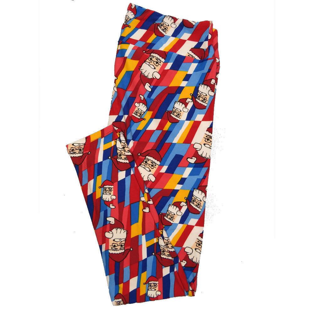LuLaRoe Tall Curvy TC Leggings Christmas Holiday (TC fits 12-18) TC-7029-W
