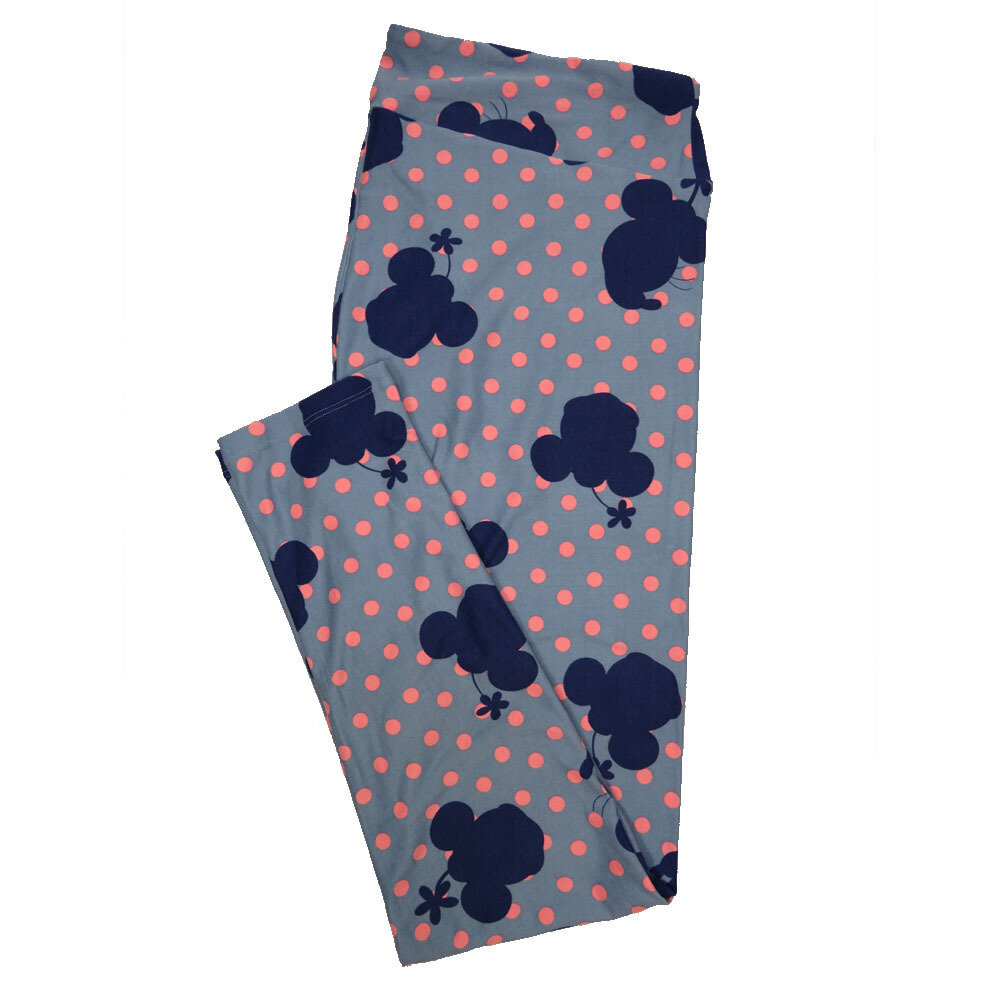 LuLaRoe Tall Curvy TC Leggings Disney Minnie Mouse (TC fits 12-18) TC-7041-R