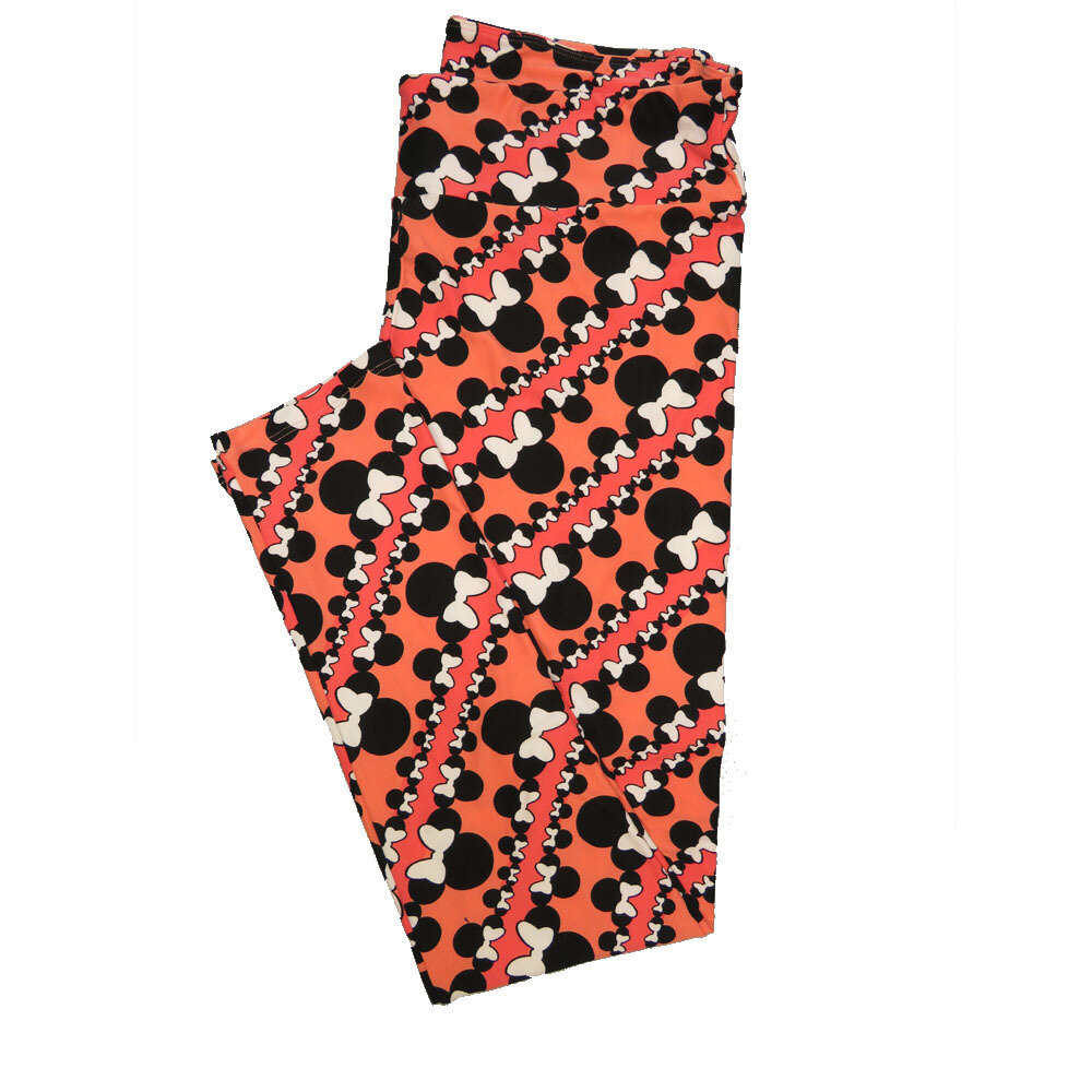 LuLaRoe Tall Curvy TC Leggings Disney Minnie Mouse (TC fits 12-18) TC-7042-F