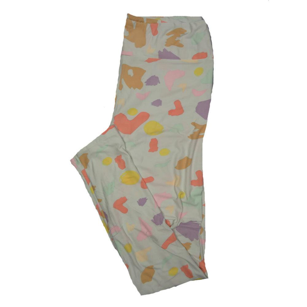 LuLaRoe Tall Curvy TC Leggings Floral (TC fits 12-18) TC-7019-U