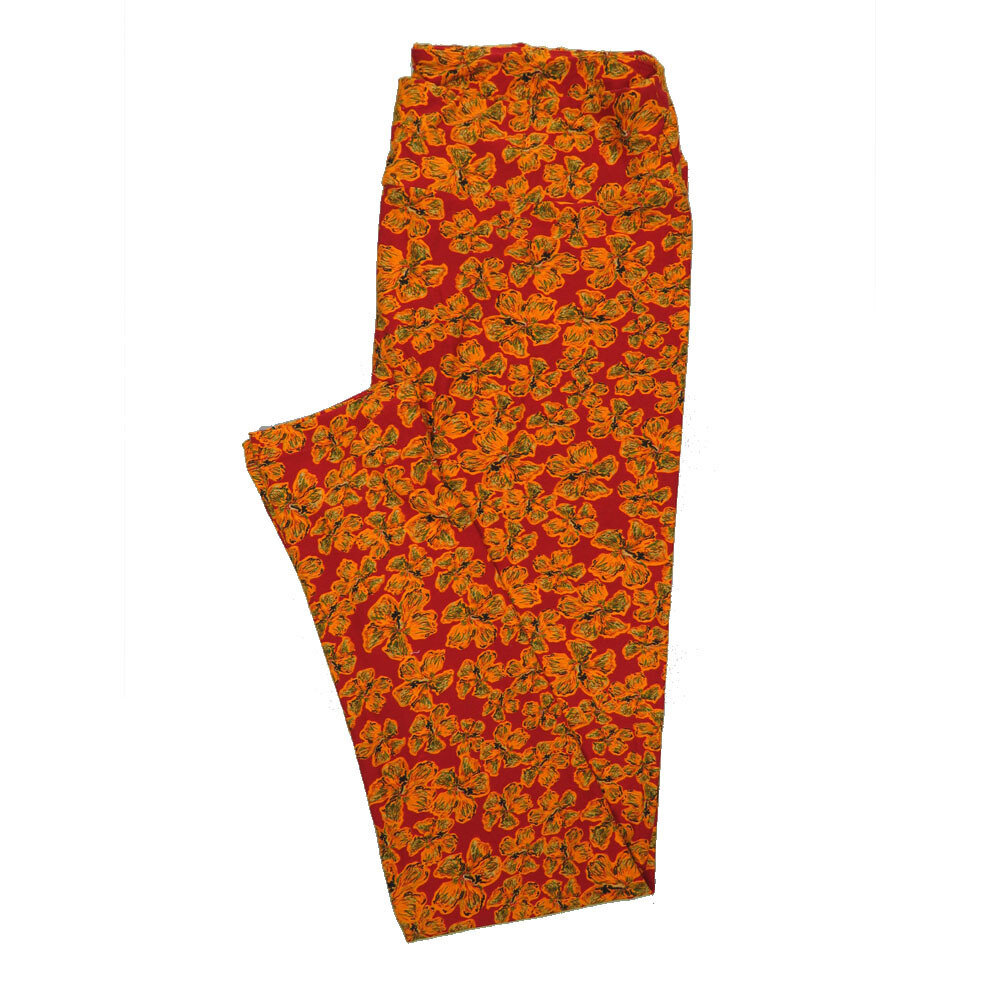 LuLaRoe Tall Curvy TC Leggings Floral (TC fits 12-18) TC-7019-V