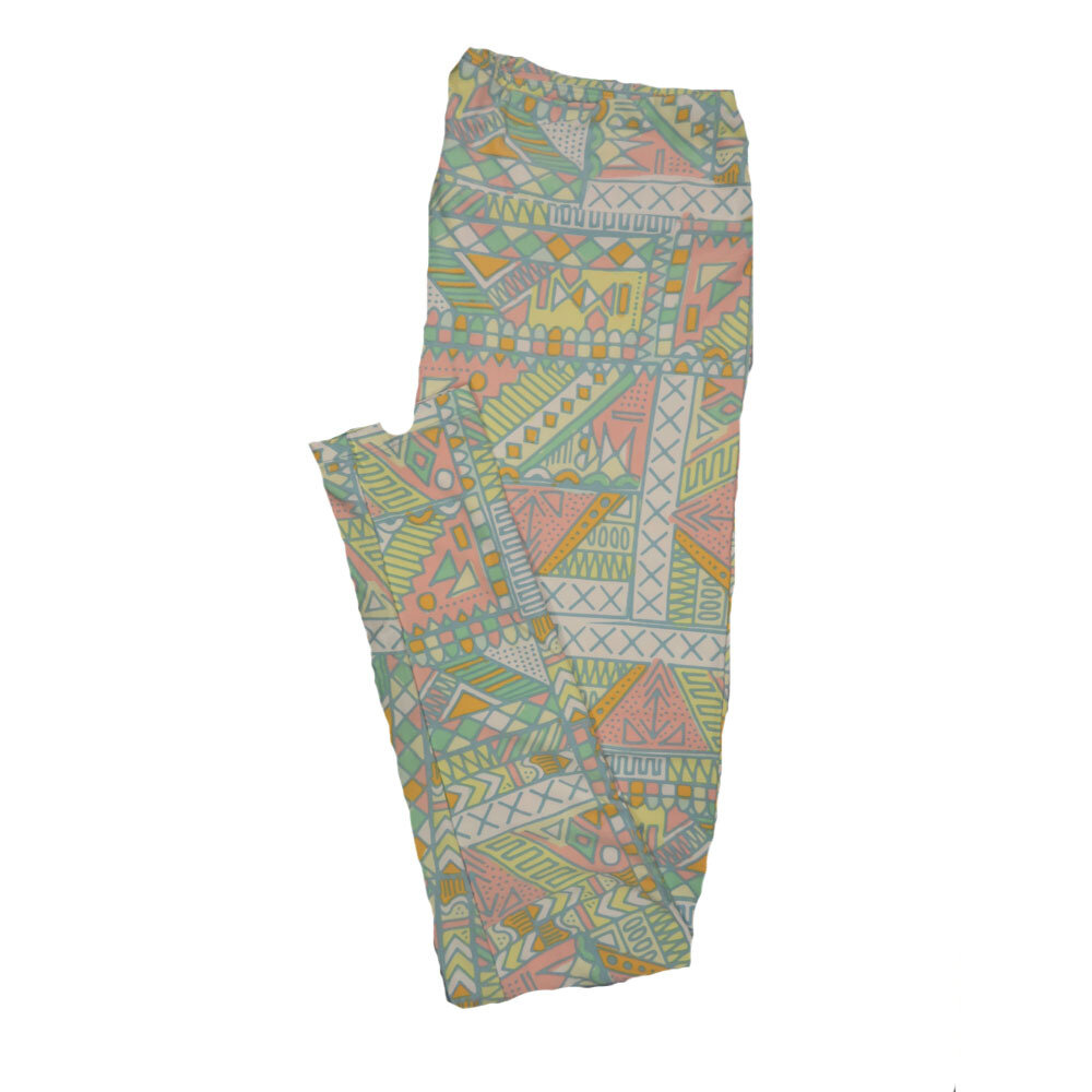 LuLaRoe Tall Curvy TC Leggings Geometric (TC fits 12-18) TC-7010-N