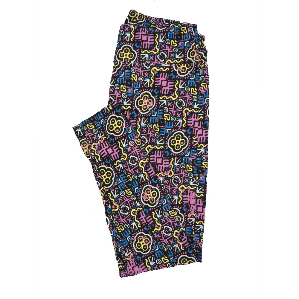 LuLaRoe Tall Curvy TC Leggings Geometric (TC fits 12-18) TC-7011-E