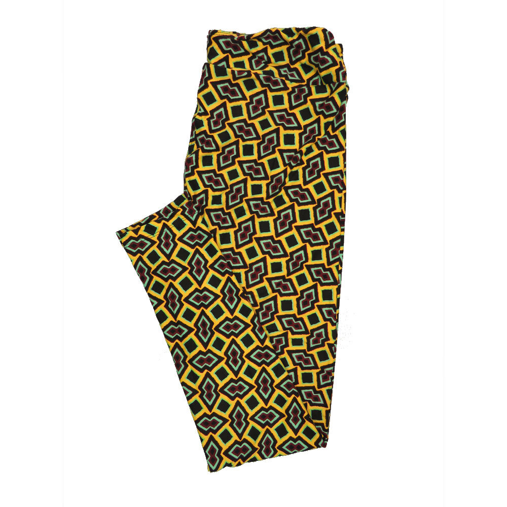 LuLaRoe Tall Curvy TC Leggings Geometric (TC fits 12-18) TC-7011-Z