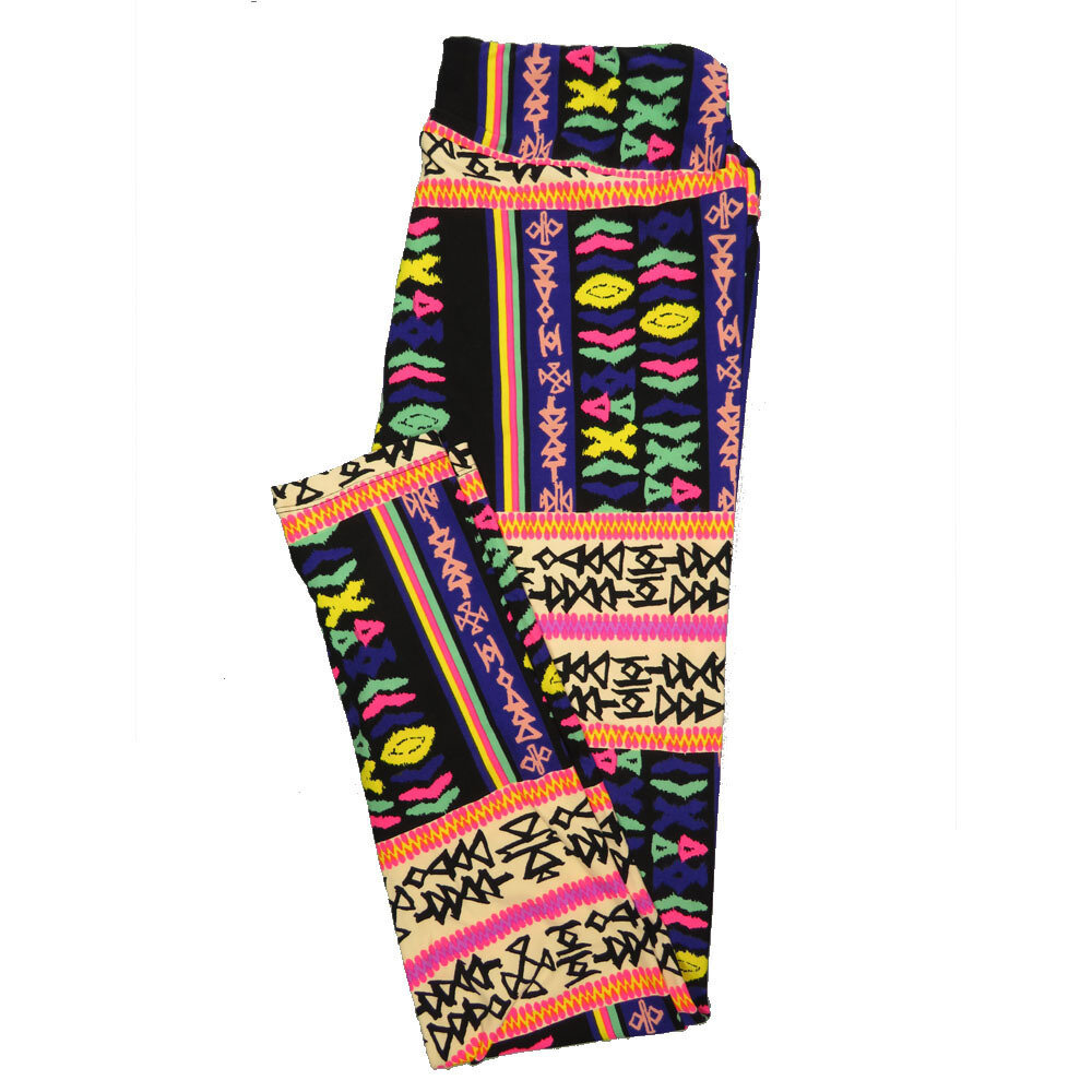 LuLaRoe Tall Curvy TC Leggings Geometric (TC fits 12-18) TC-7026-P