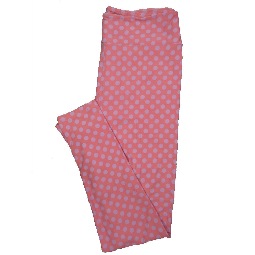 LuLaRoe Tall Curvy TC Leggings Polka Dot (TC fits 12-18) TC-7025-S