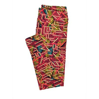 LuLaRoe Tall Curvy TC Leggings Geometric (TC fits 12-18) TC-7011-G