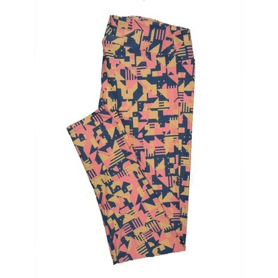 LuLaRoe Tall Curvy TC Leggings Geometric (TC fits 12-18) TC-7011-V2