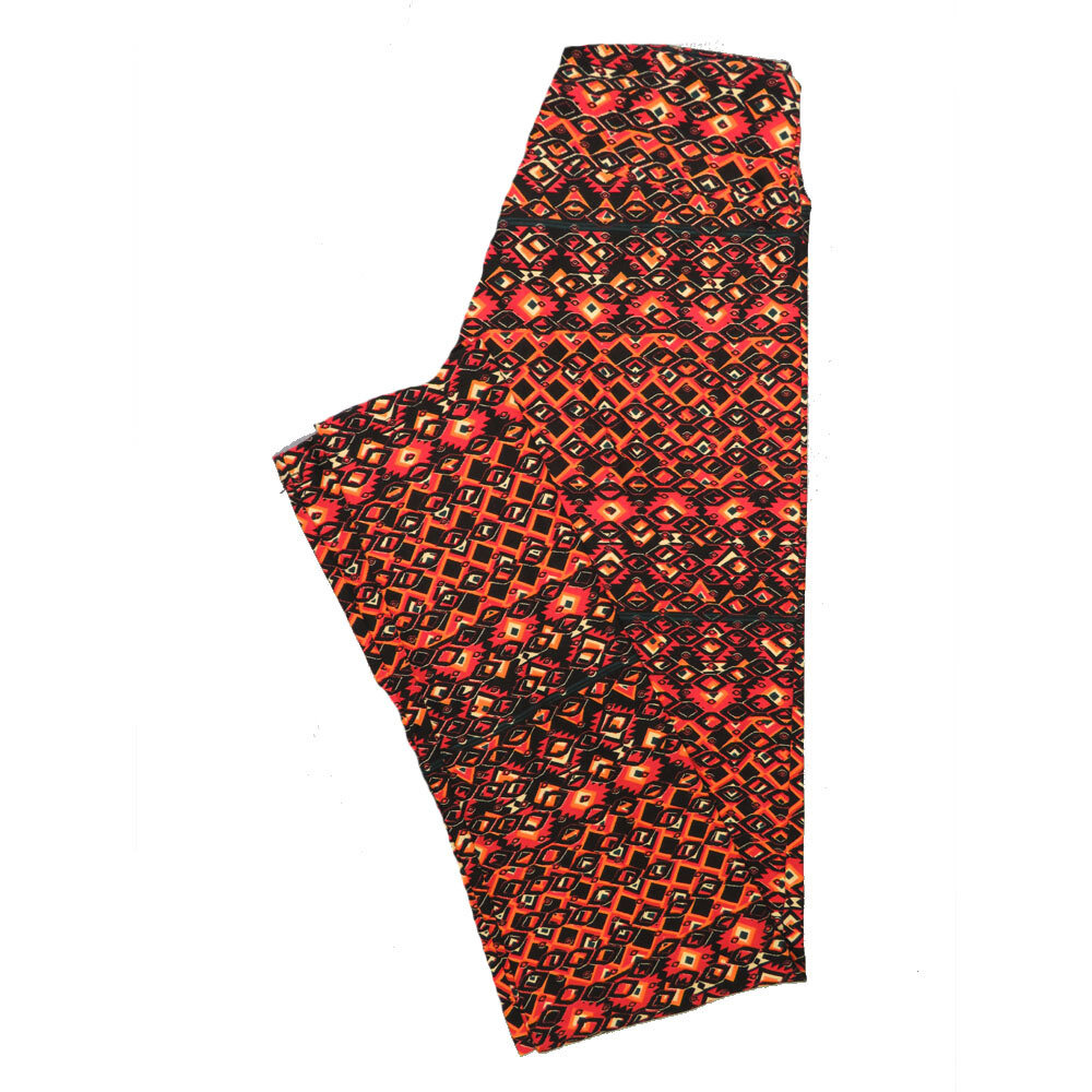 LuLaRoe One Size OS Psychedelic 70's and Trippy Leggings (OS fits Adults 2-10) OS-4078-K