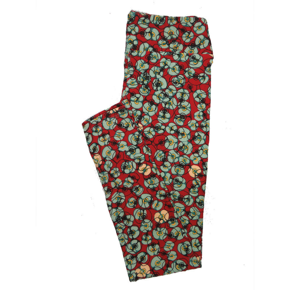 LuLaRoe One Size OS Animals Stars and Objects Leggings (OS fits Adults 2-10) OS-4091-A