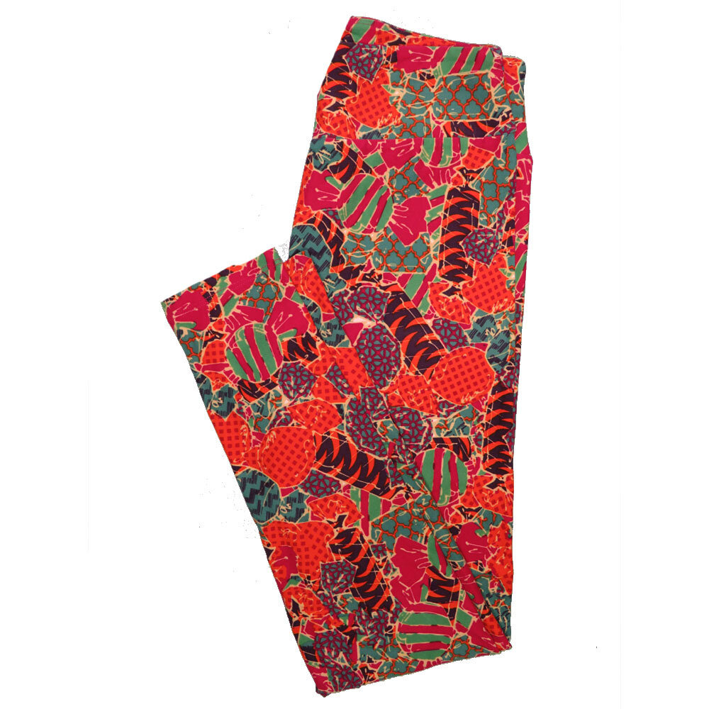 LuLaRoe One Size OS Animals Stars and Objects Leggings (OS fits Adults 2-10) OS-4091-B