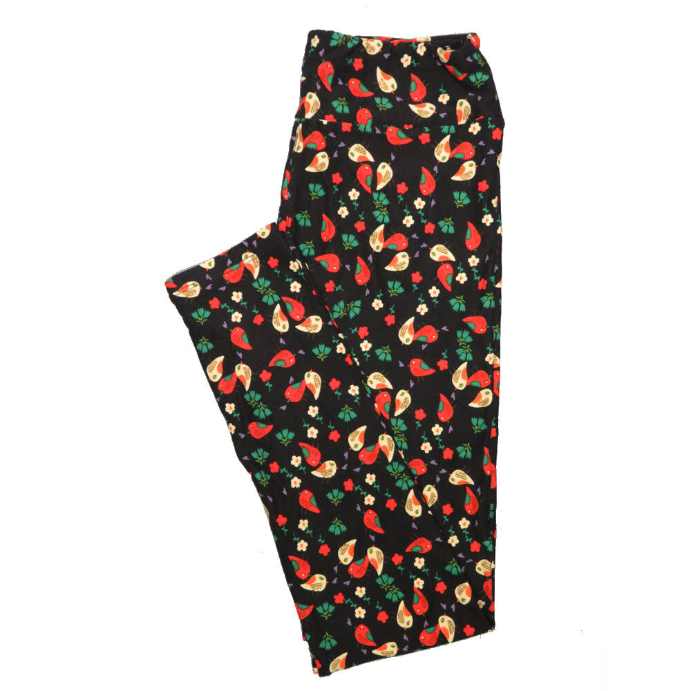 LuLaRoe One Size OS Animals Stars and Objects Leggings (OS fits Adults 2-10) OS-4091-M