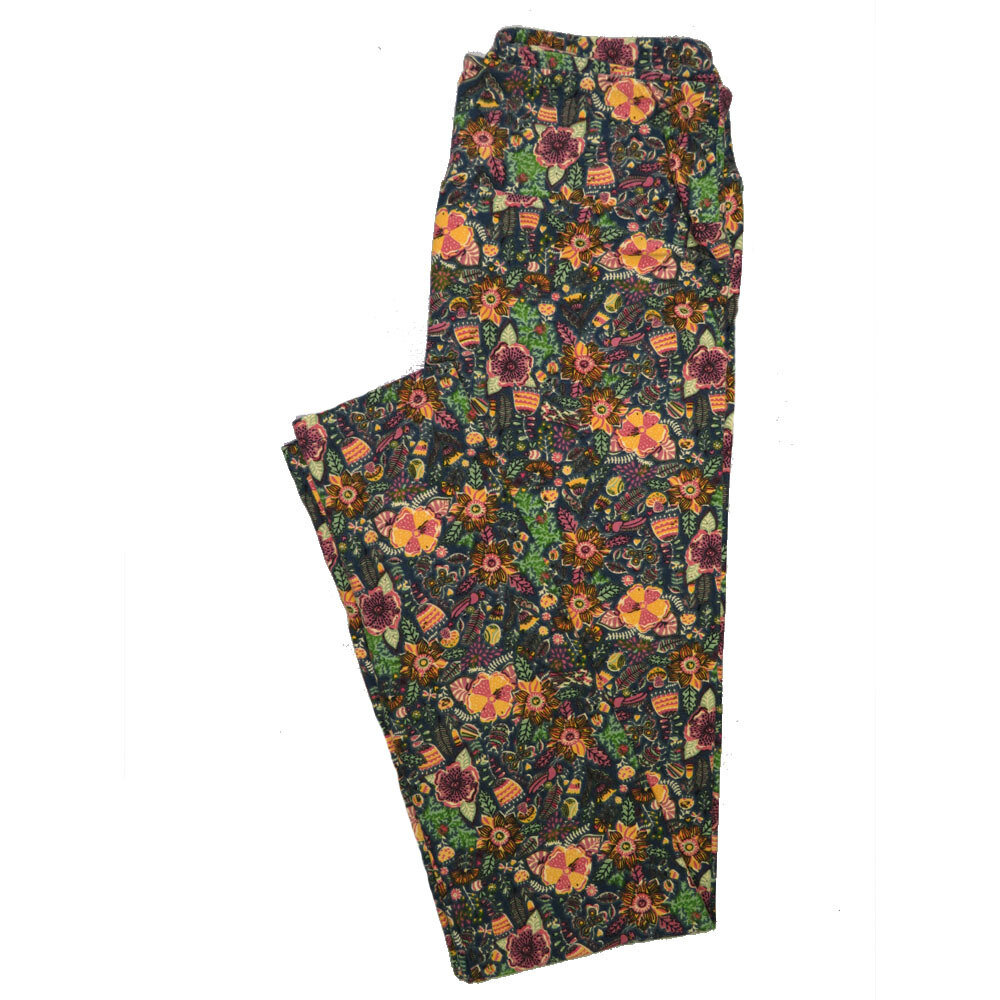LuLaRoe One Size OS Animals Stars and Objects Leggings (OS fits Adults 2-10) OS-4093-F