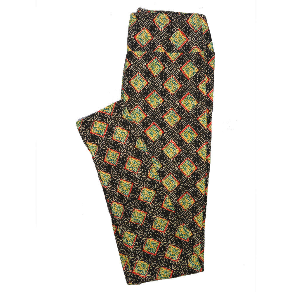 LuLaRoe One Size OS Animals Stars and Objects Leggings (OS fits Adults 2-10) OS-4093-K