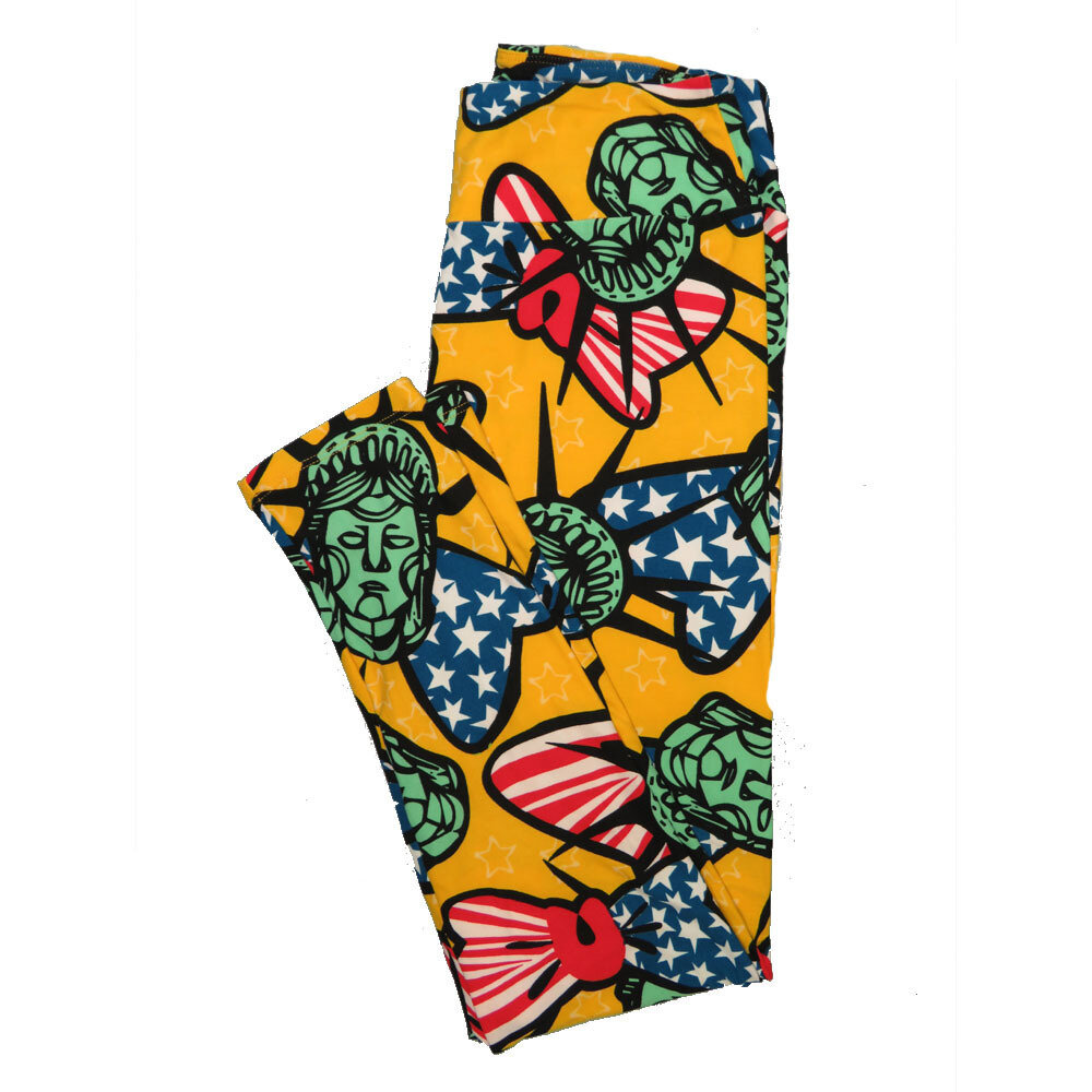 LuLaRoe One Size OS Animals Stars and Objects Leggings (OS fits Adults 2-10) OS-4094-H