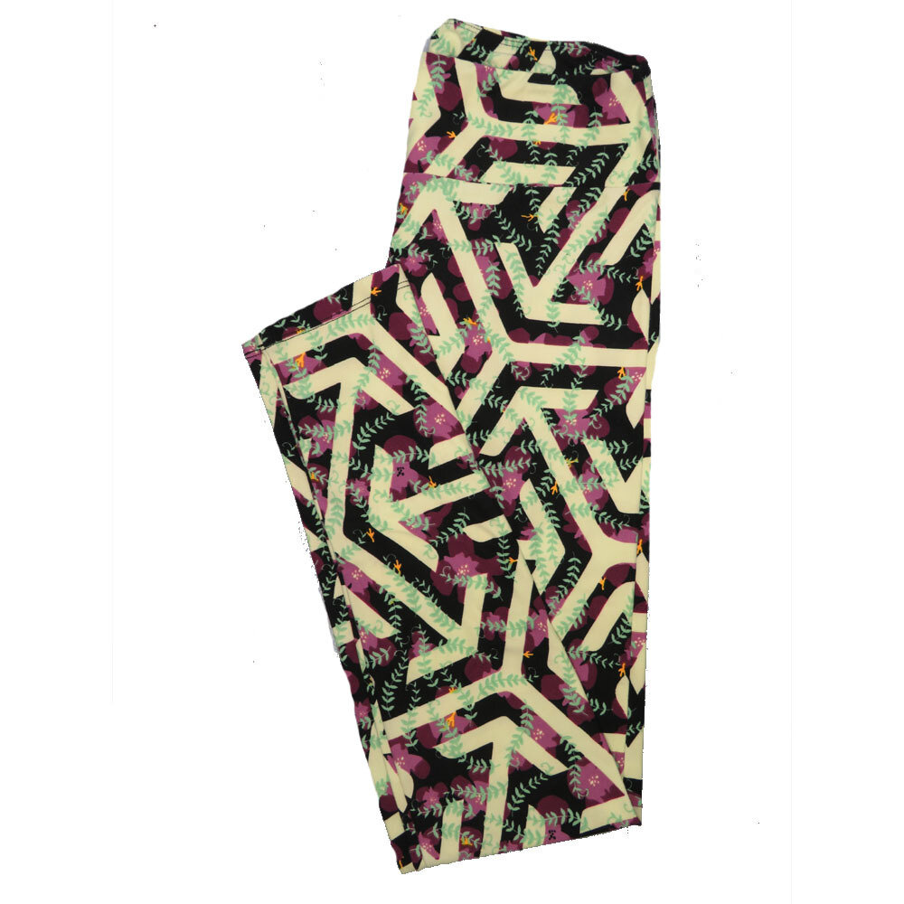 LuLaRoe One Size OS Animals Stars and Objects Leggings (OS fits Adults 2-10) OS-4096-P