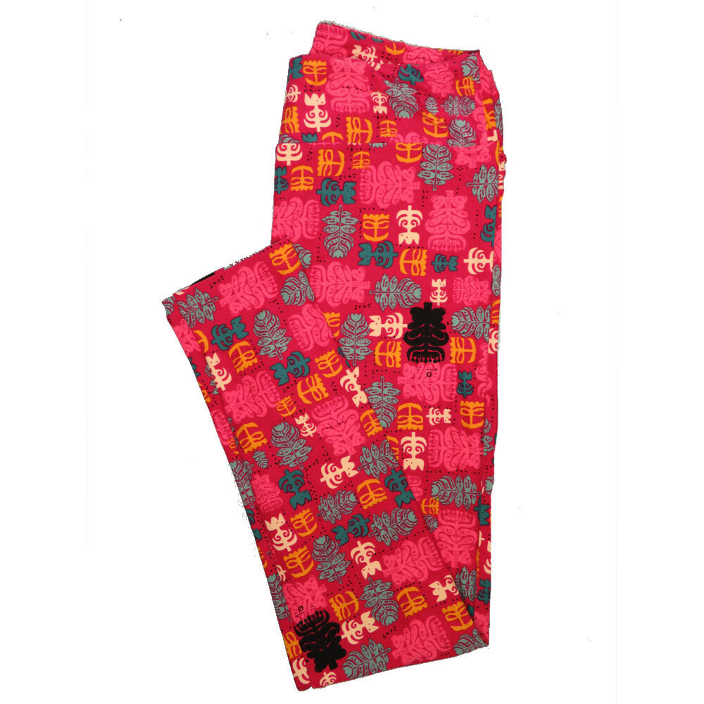 LuLaRoe One Size OS Animals Stars and Objects Leggings (OS fits Adults 2-10) OS-4096-R