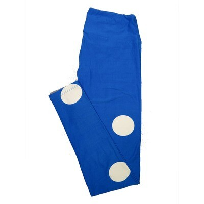 LuLaRoe One Size OS Polka Dots Leggings (OS fits Adults 2-10) OS-4060-A2
